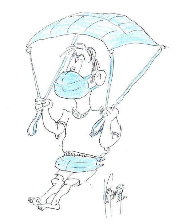 Körmőczy Dénes karikatúrája
