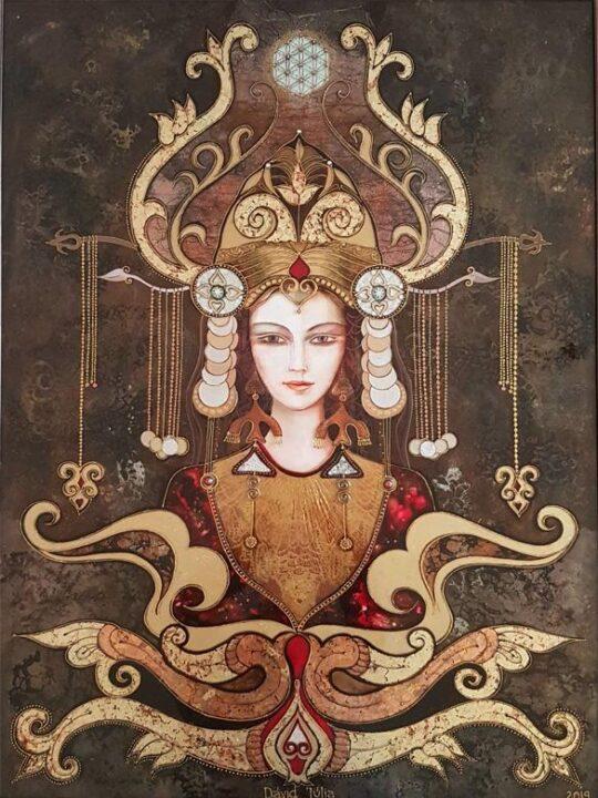 Anyahita - 60x76 akril, vászon