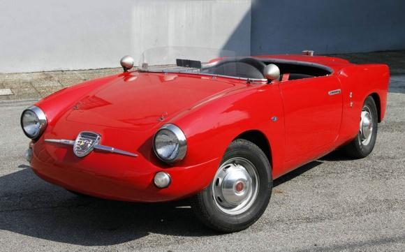 1959 Abarth 750 Allemano Spider front quarter resize