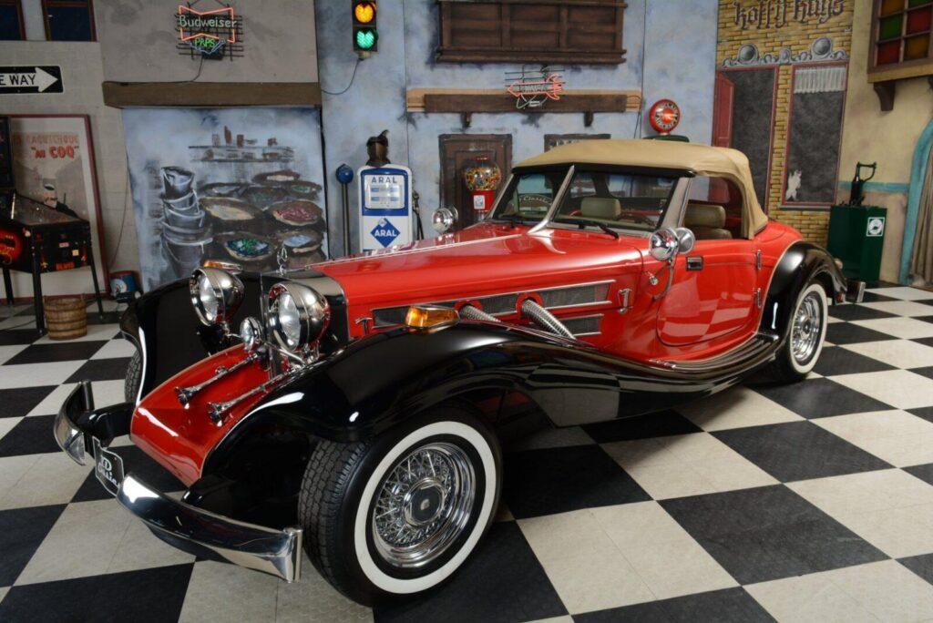 4 1934 Mercedes Benz 500 Cabrio Replica