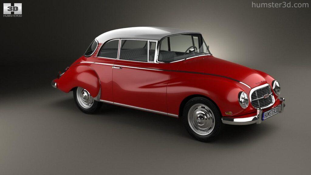 Auto Union 1000 S Coupe de Luxe 1959 360 720 50 38