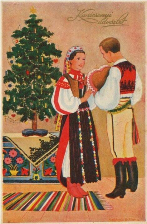régi Karácsony