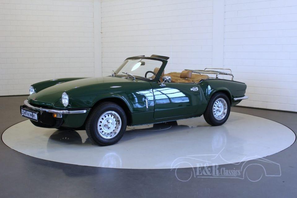 triumph spitfire 1500 1978 t6739 0012