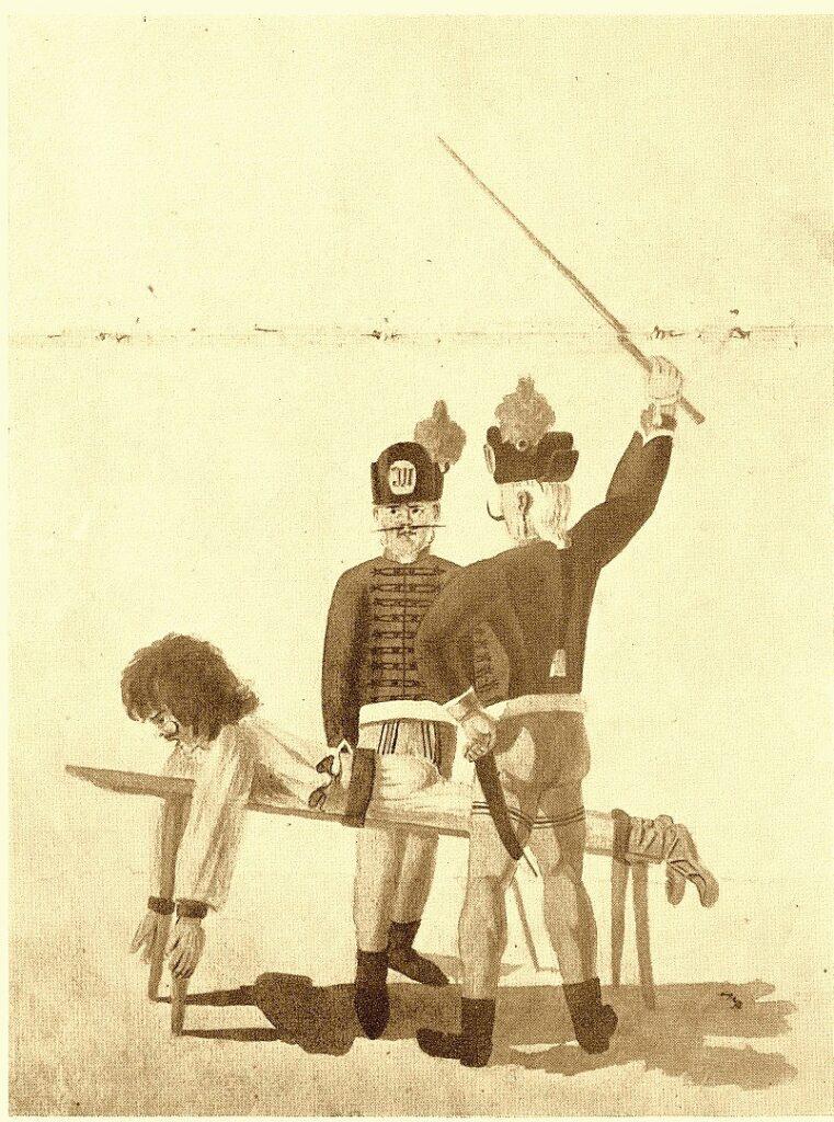Paraszt deresen 1793