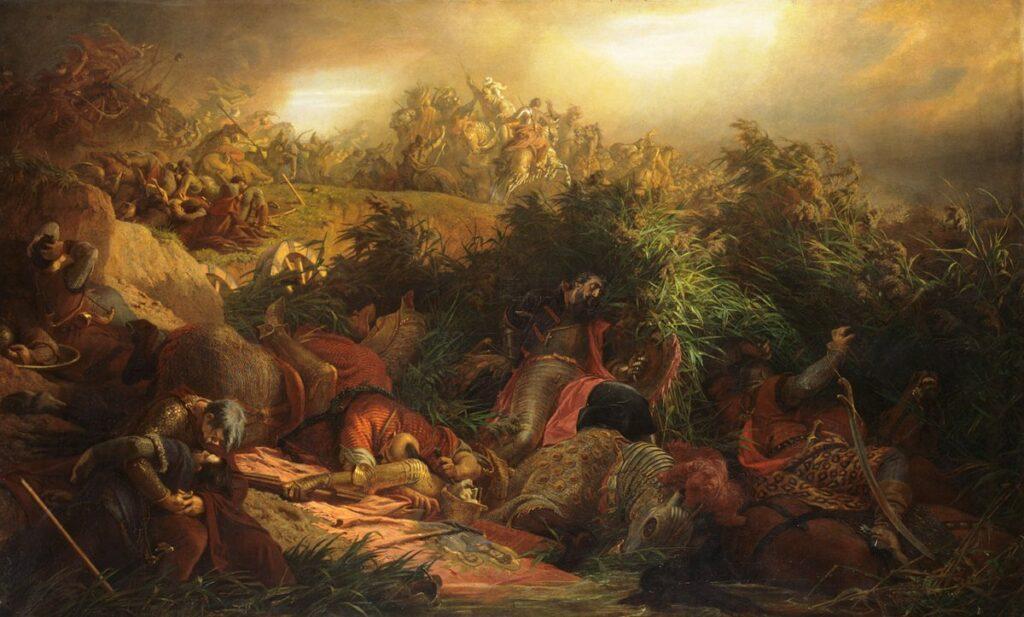 Székely Bertalan: Mohácsi csata