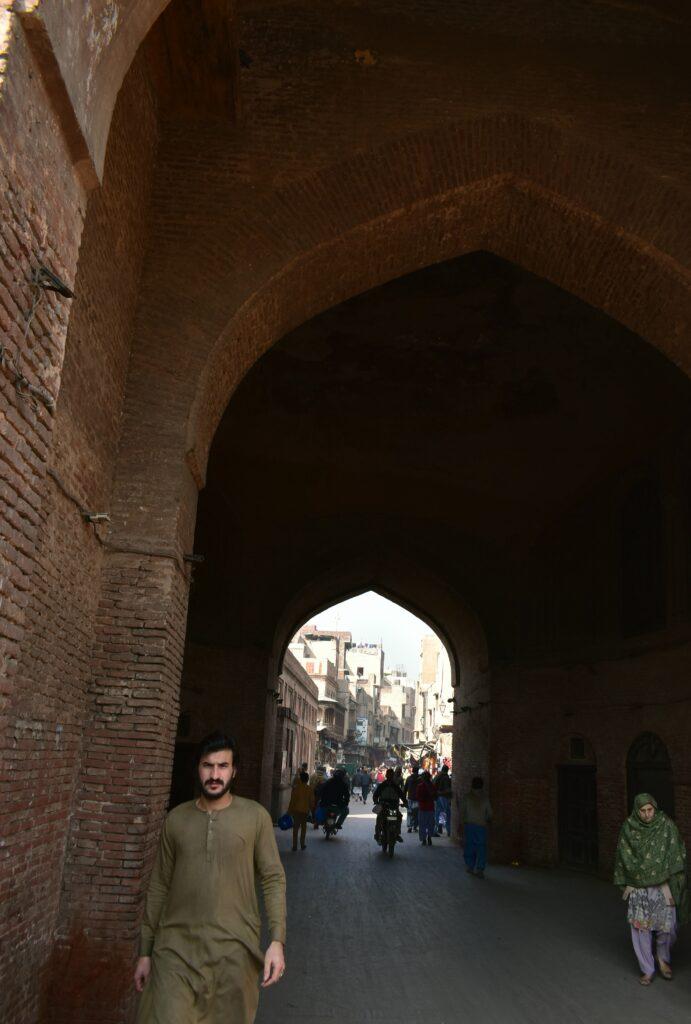 Belépünk a Delhi-kapun
