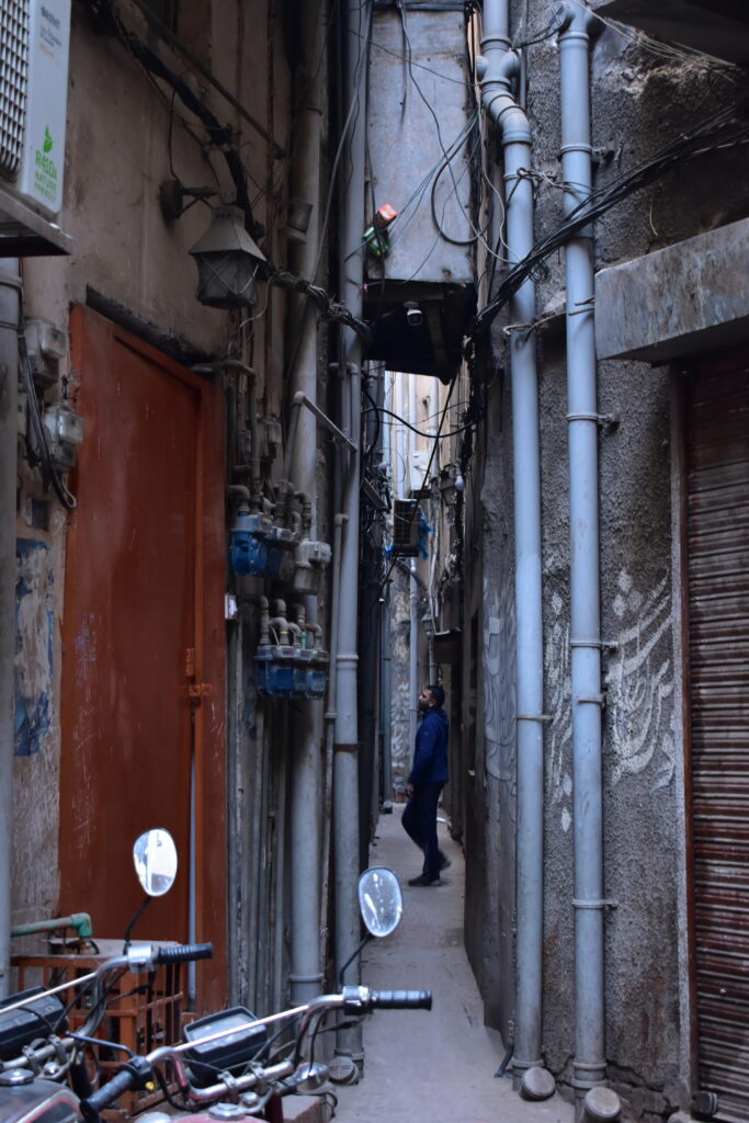 A legszűkebb utca Lahorban (és állítólag egész Pakisztánban is)