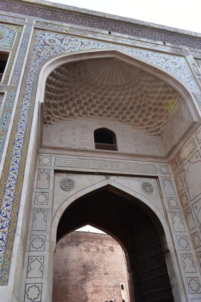 A nemesek kapuja, az erőd egyik bejárata