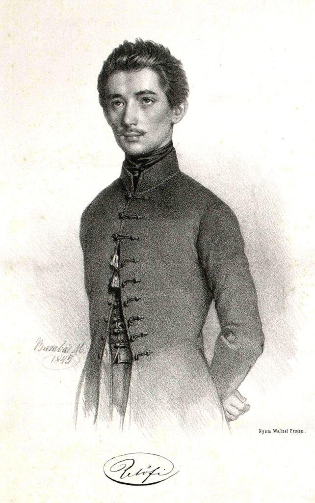 Petőfi Barabás 1845