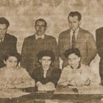 1960 – a szabadkai cipőgyár vezetősége (Felső sor balról az első Bláboli Gábor, későbbi vezérigazgató, balról a harmadik Maráci Árpád, a leghíresebb mérnök).