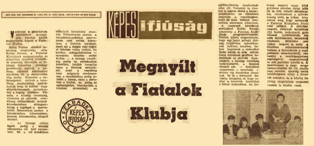 1967. November 16. – KÉPES IFJÚSÁG