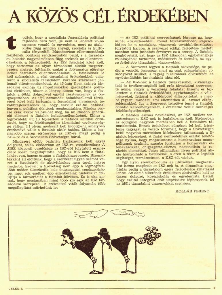1971. Jelen 3