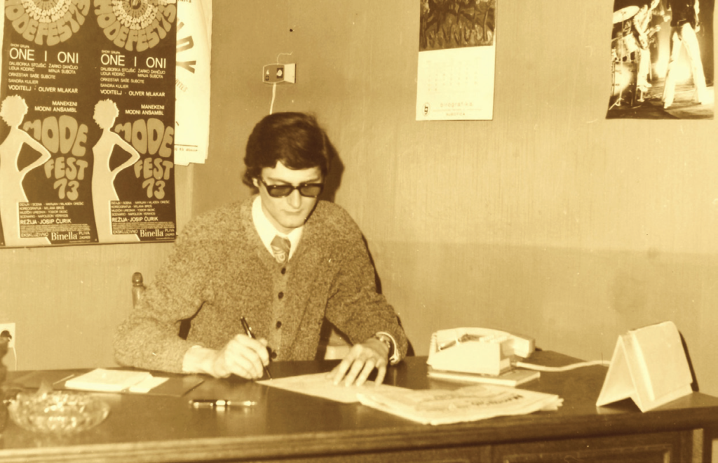 1972. Kollár Ferenc az Ifjúsági Otthon szervezője