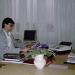 1990 – a zabadkai TREND cipőgyár tulajdonosa: Kollár Ferenc