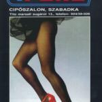 A TREND reklámplaktja 1988.