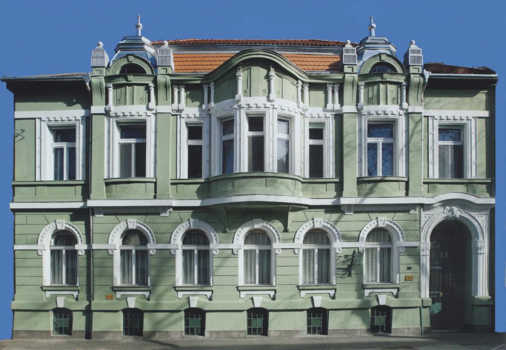 2005. A Hajnóczy utcai családi ház
