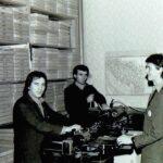 1979 – a szabásminták kopírozása.