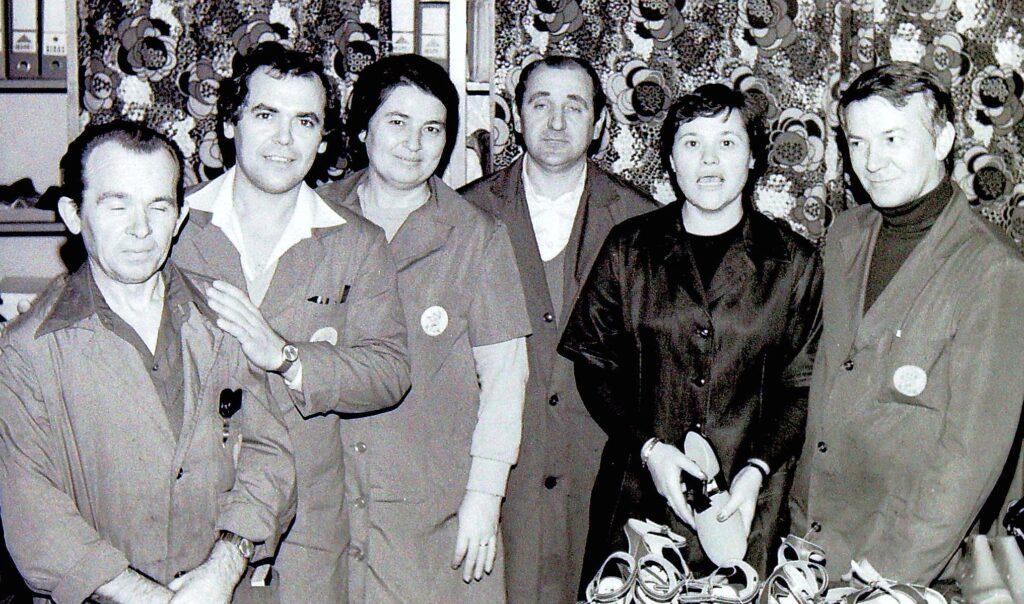 1979 – Az osztályvezetők megbeszélésén.