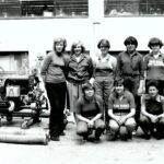 1977 – A Solid női tűzoltói.