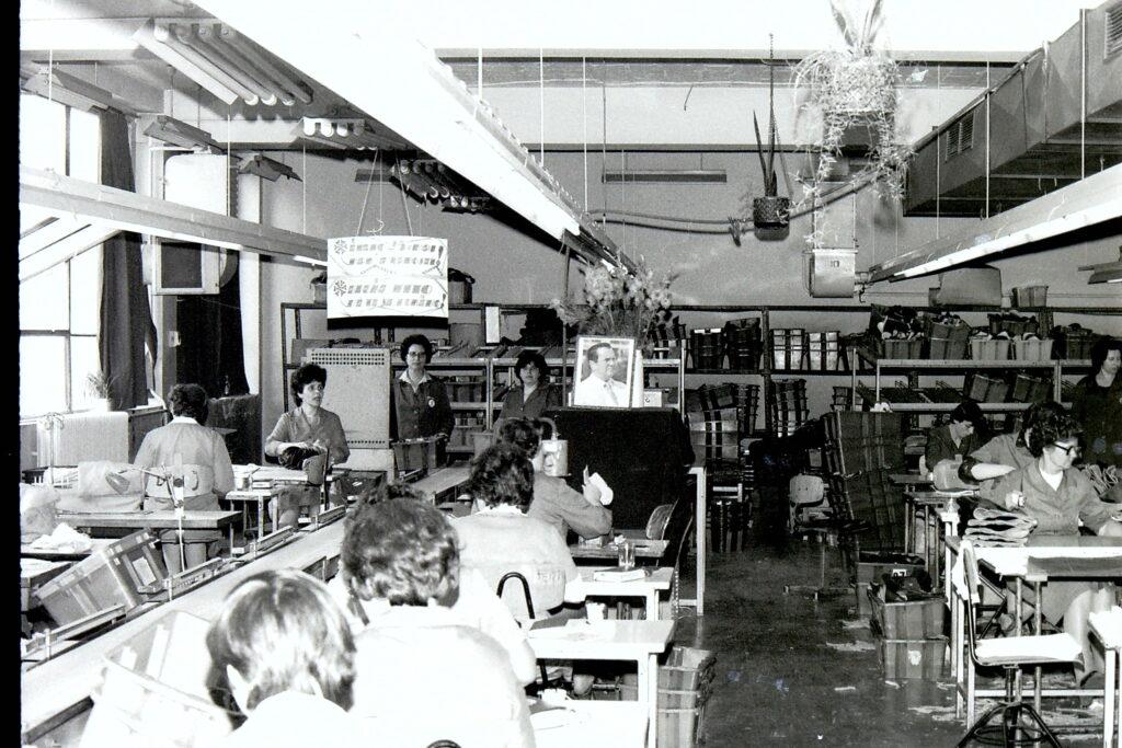 1977 – varroda, szembe Titó kép.1977 – varroda, szembe Titó kép.