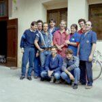 1989 – a TREND fiatal dolgozóinak csoportja.