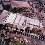 1985- A Chemos gyár hét munkacsarnoka és raktárai (Kollár Ferenc felvétele).