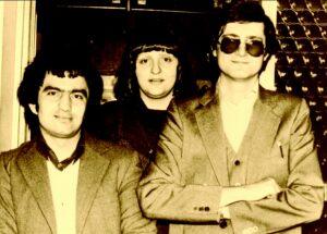 1980 – Kollár Ferenc munkatársai: Romic Dusan és Rogic Julia.