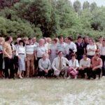 1986 – A Chemos kiváló dolgozói (alul guggolva Konen Pérer, nyakkendőben).