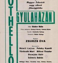 2021. ÁPRILIS 7. (szerda) – A komikus tragédia: Othello Gyulaházán (Film-Szín-Játék)