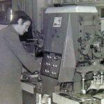 1985 – A Chemos vezetői (Balról az első: Papp Ferenc, a legkreativabb igazgató a gyár történetében).