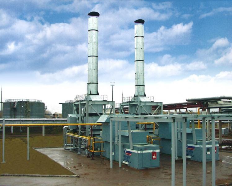 Ipari hulladékból elektromos energiát termelö erőmű látványterve