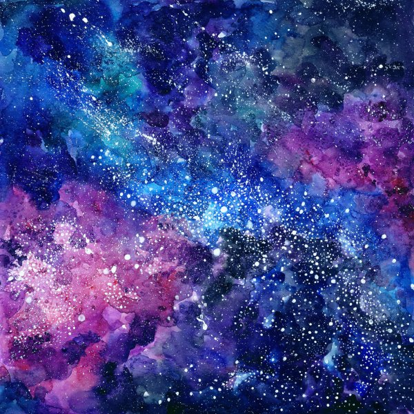 depositphotos 91064284 stock photo space hand painted watercolor background