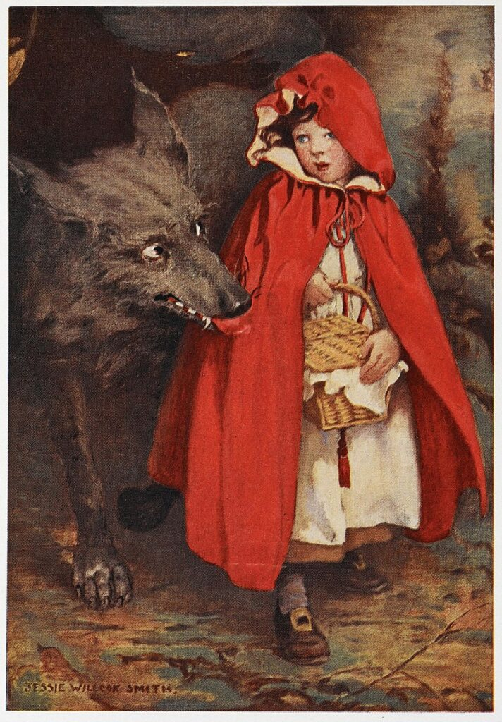 800px Little Red Riding Hood J. W. Smith
