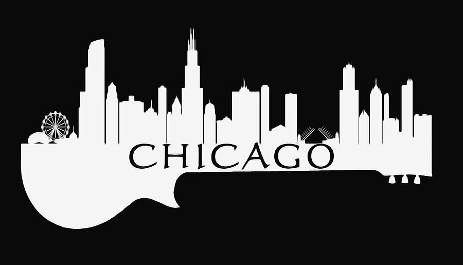 chicago blues guitar skyline dan sproul 1