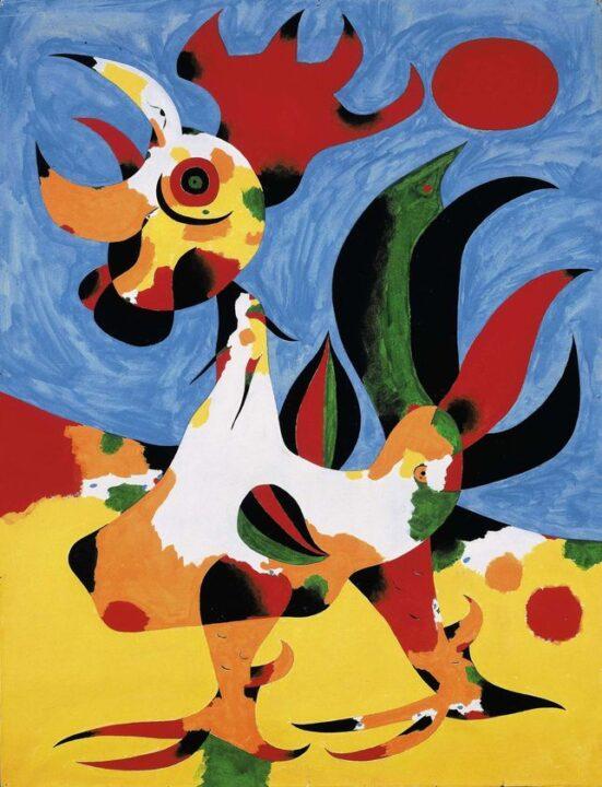 Joan Miro A kakas