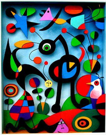 Joan Miro A kert