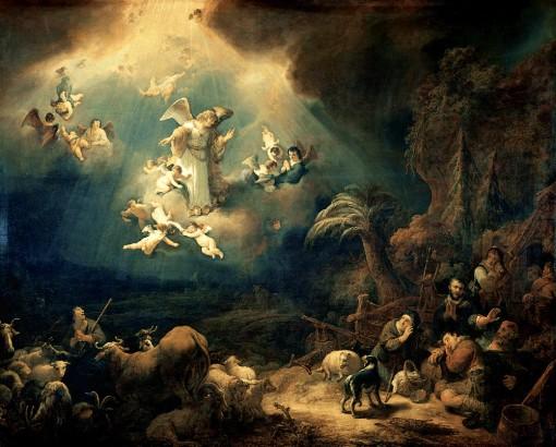 Angyalok megjelennek a pásztoroknak 1