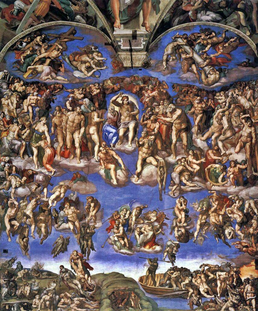 Michelangelo Giudizio Universale 02