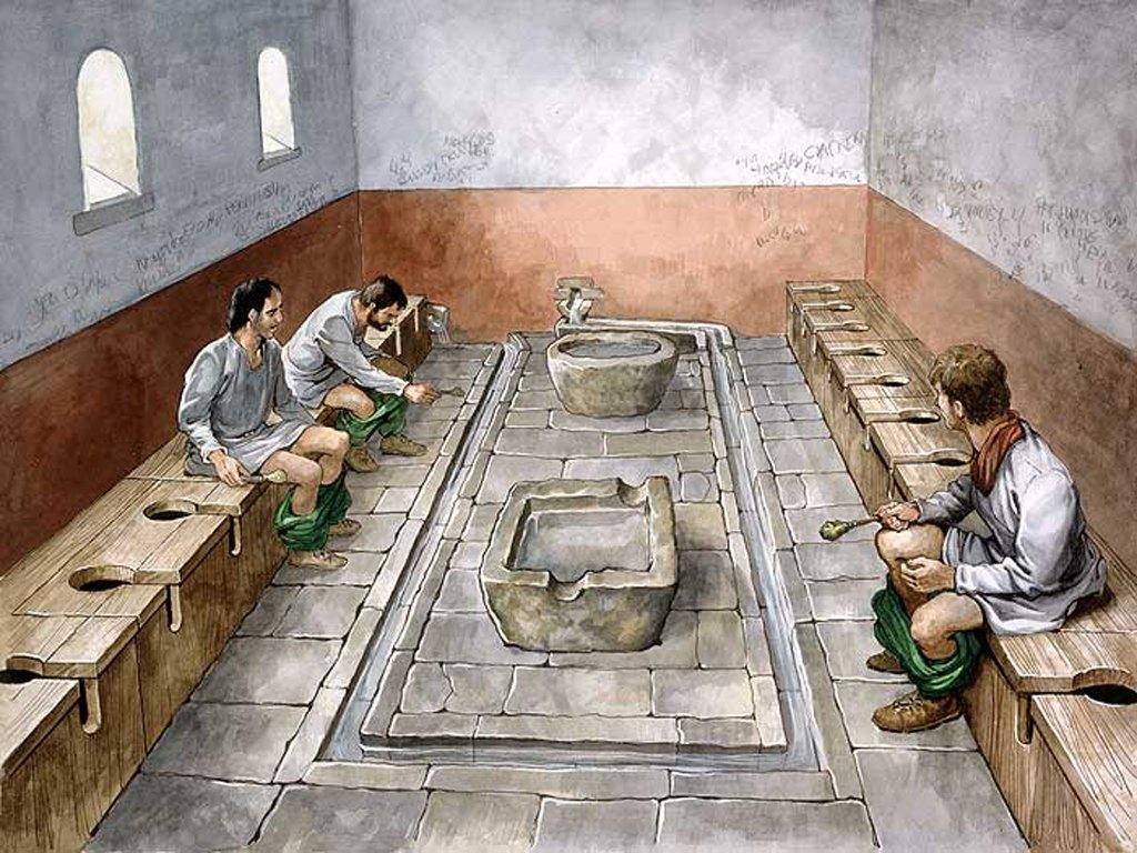 cultura toilets latrina rome